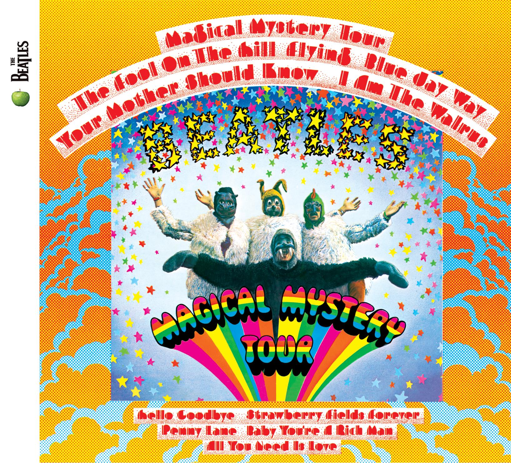 The Beatles - Magical Mystery Tour -CD cover art